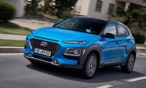 Υβριδικό Hyundai Kona: από 23.990 ευρώ στην Ελλάδα