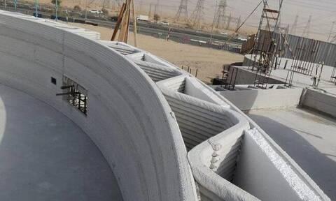 Αυτό είναι το μεγαλύτερο 3D εκτυπωμένο κτήριο στον κόσμο (video)