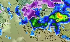 Καιρός: Απ' όλα έχει το μενού... Θερμή εισβολή στις 18, ψυχρή και χιόνια απ' τις 20... (videos)