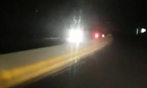 Εικόνες - ΣΟΚ στην Κρήτη: Δείτε τι έκανε αυτός ο οδηγός