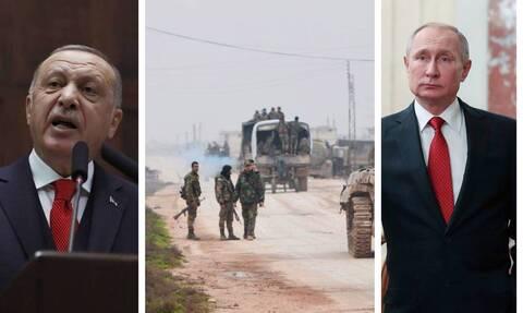 Πεδίο μάχης για Άγκυρα-Μόσχα η Ιντλίμπ: «Φρένο» Πούτιν σε Ερντογάν