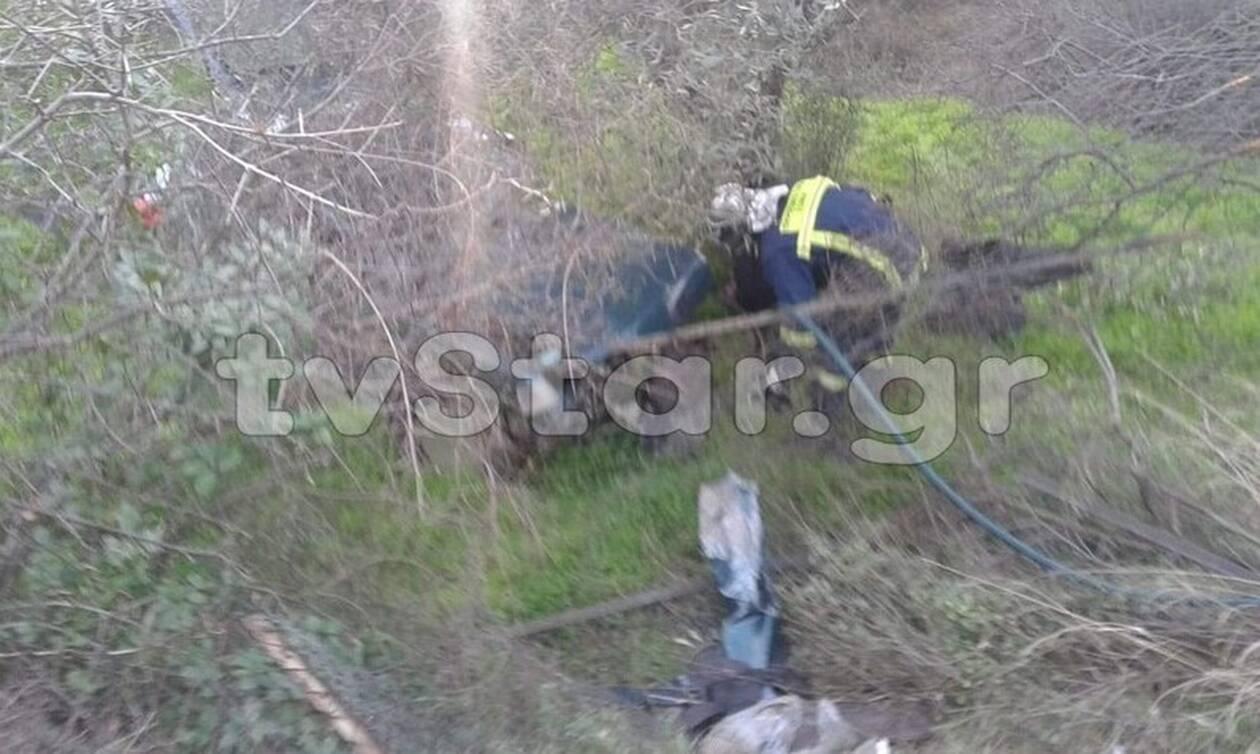 Τραγικός θάνατος για 43χρονη στην Ερέτρια - Τράκαρε αυτοκίνητο και έπεσε σε γκρεμό
