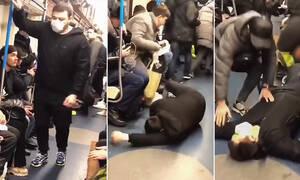 Πανικός στο μετρό: Έκανε φάρσα και κινδυνεύει με 5 χρόνια φυλάκιση! (vid)