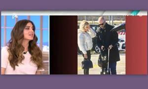 Σταματίνα Τσιμτσιλή: Τι είπε για τον νέο σύντροφο της Φαίης Σκορδά