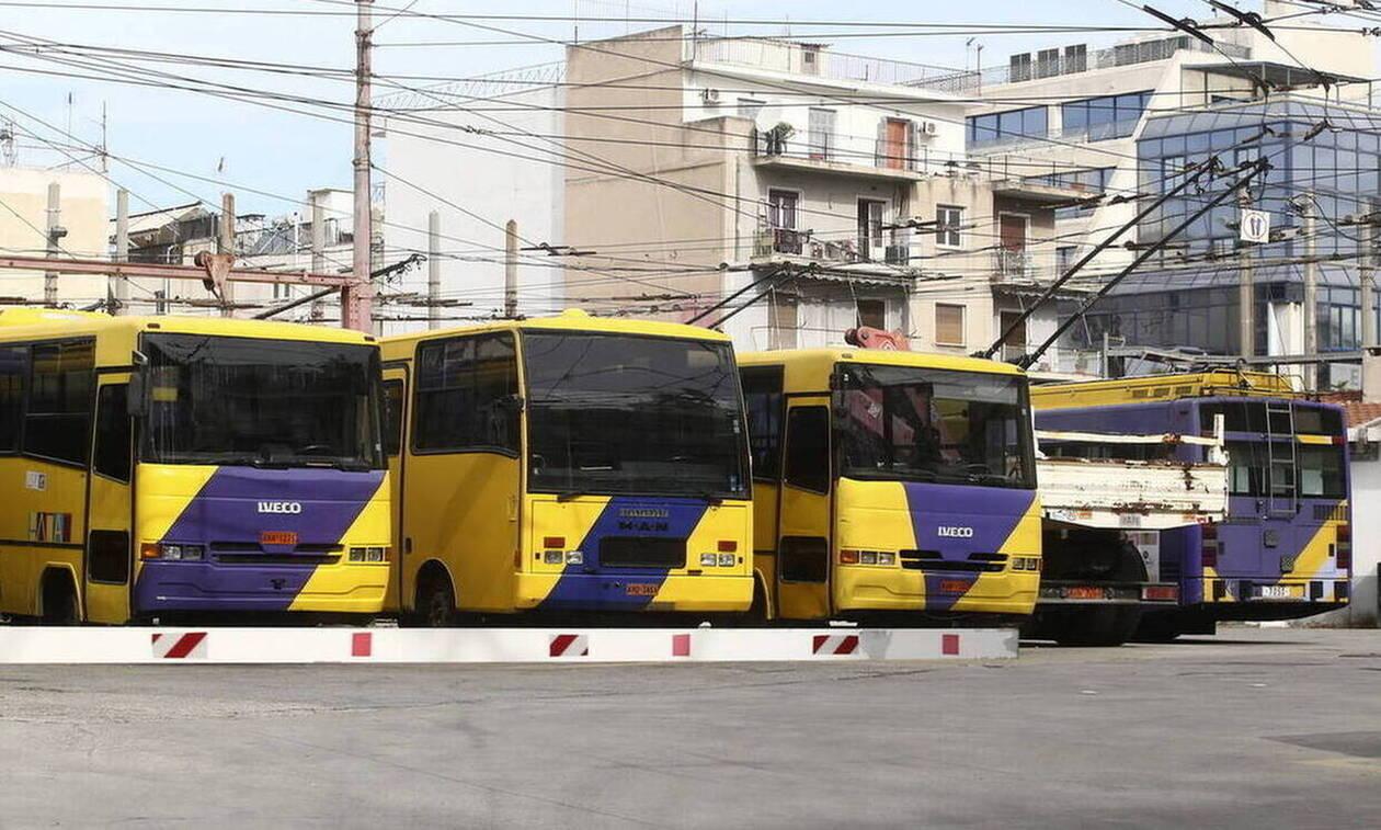 В Греции 18 февраля состоится забастовка троллейбусов