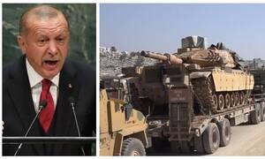 Μαίνονται οι συγκρούσεις στη Συρία - Ερντογάν: Θα χτυπήσουμε τις δυνάμεις του Άσαντ όπου τις βρούμε