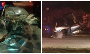 Τροχαίο - σοκ στην Κρήτη: Ακαριαίος θάνατος 22χρονου (pics)