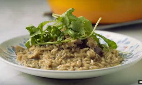 Η συνταγή της ημέρας: Ριζότο Μανιταριών