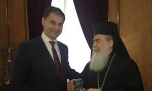 Eπίσκεψη υπουργού Τουρισμού Χάρη Θεοχάρη στο Ισραήλ