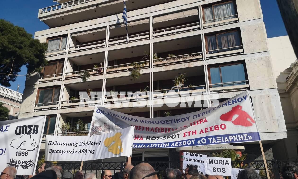 Μεταναστευτικό: «Απόβαση» κατοίκων του βορείου Αιγαίου στο ΥΠΕΣ - Τι λένε στο Newsbomb.gr