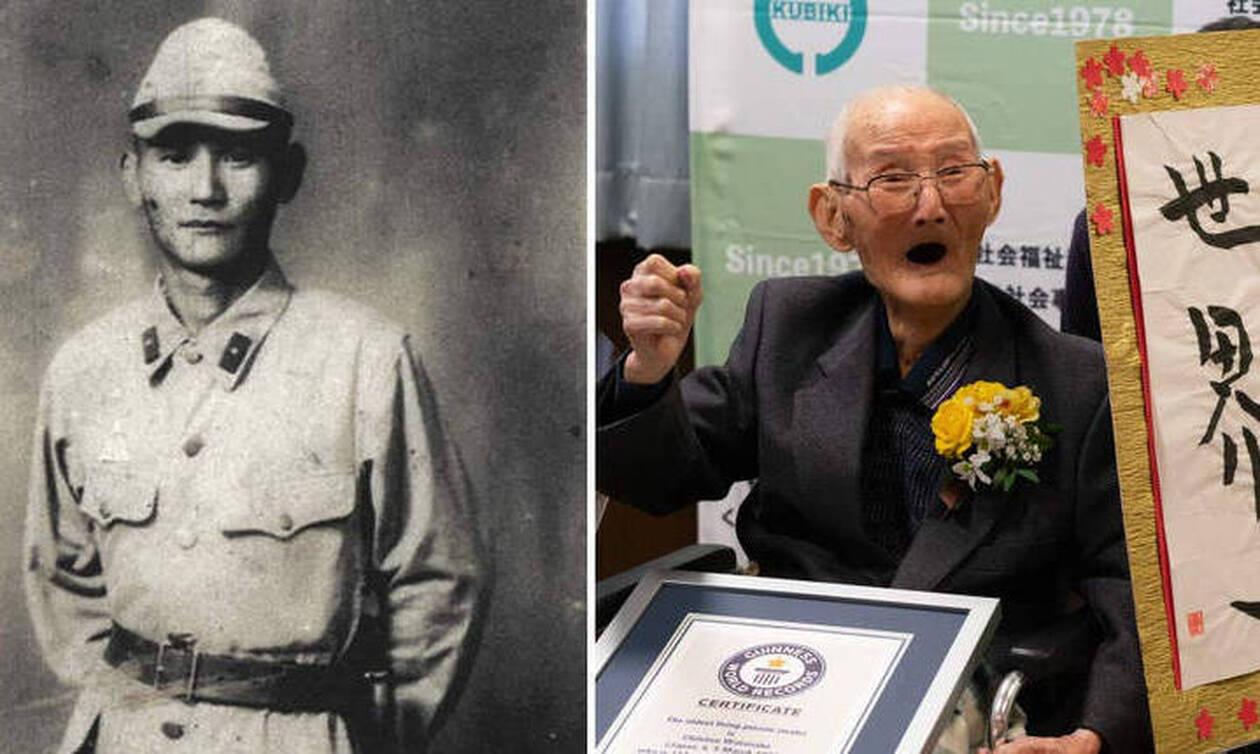 Ο γηραιότερος άνδρας στον κόσμο αποκαλύπτει τα μυστικά μακροζωίας του