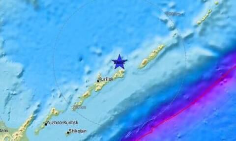Ισχυρός σεισμός 6,9 Ρίχτερ μεταξύ Ιαπωνίας - Ρωσίας