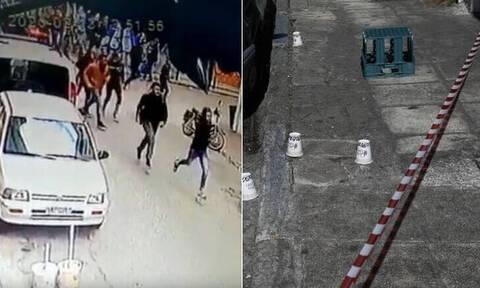 Βίντεο - ντοκουμέντο: Έτσι σφάχτηκαν στη Μενάνδρου για τα ναρκωτικά και τα λαθραία τσιγάρα