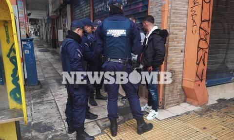 Μεγάλη αστυνομική επιχείρηση στη Μενάνδρου (pics&vids)