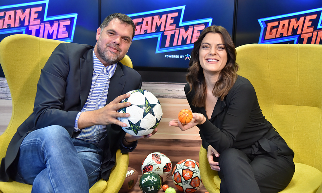 All Star Game Time με Δημήτρη Παπανικολάου και Γιώργο Λέντζα