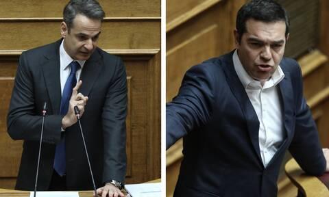 Άγρια κόντρα στη Βουλή! Μητσοτάκης: Είσαι ψεύτης – Τσίπρας: Είσαι πιο ανελέητος και από τον Τόμσεν