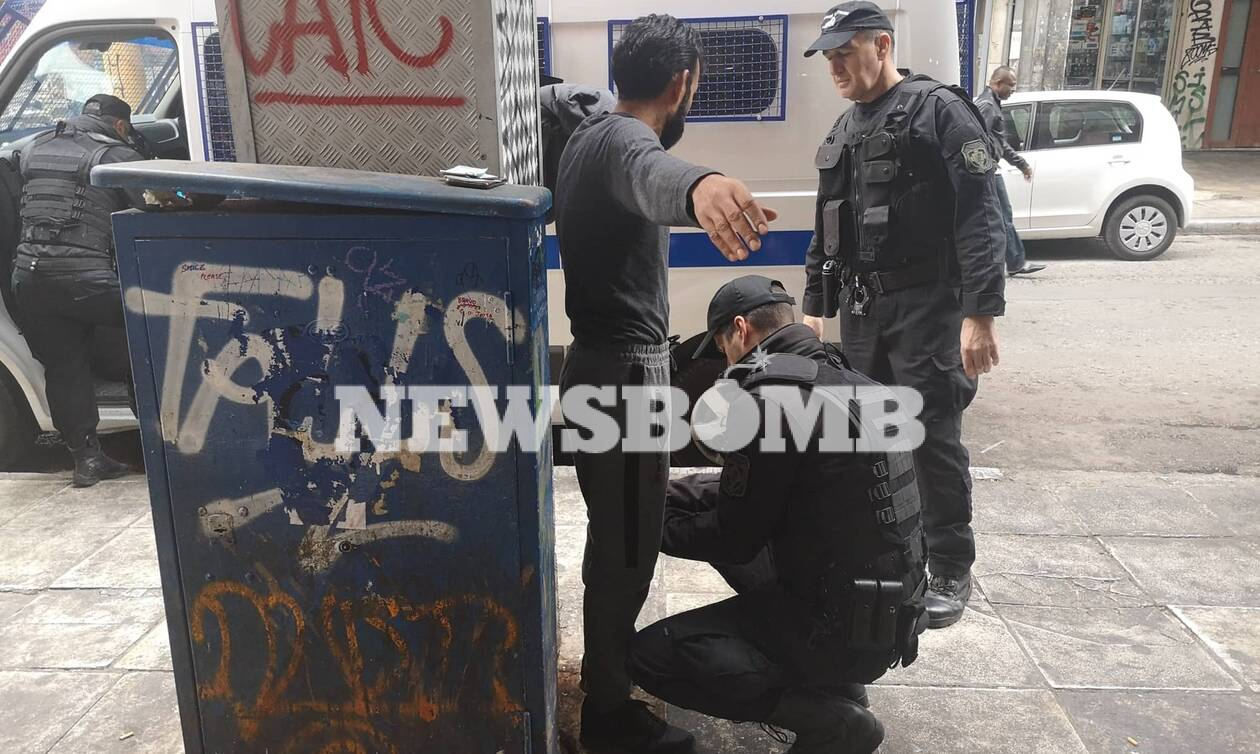 Major police operation in central Athens