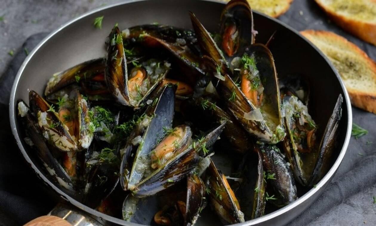 Η συνταγή της ημέρας: Μύδια αχνιστά