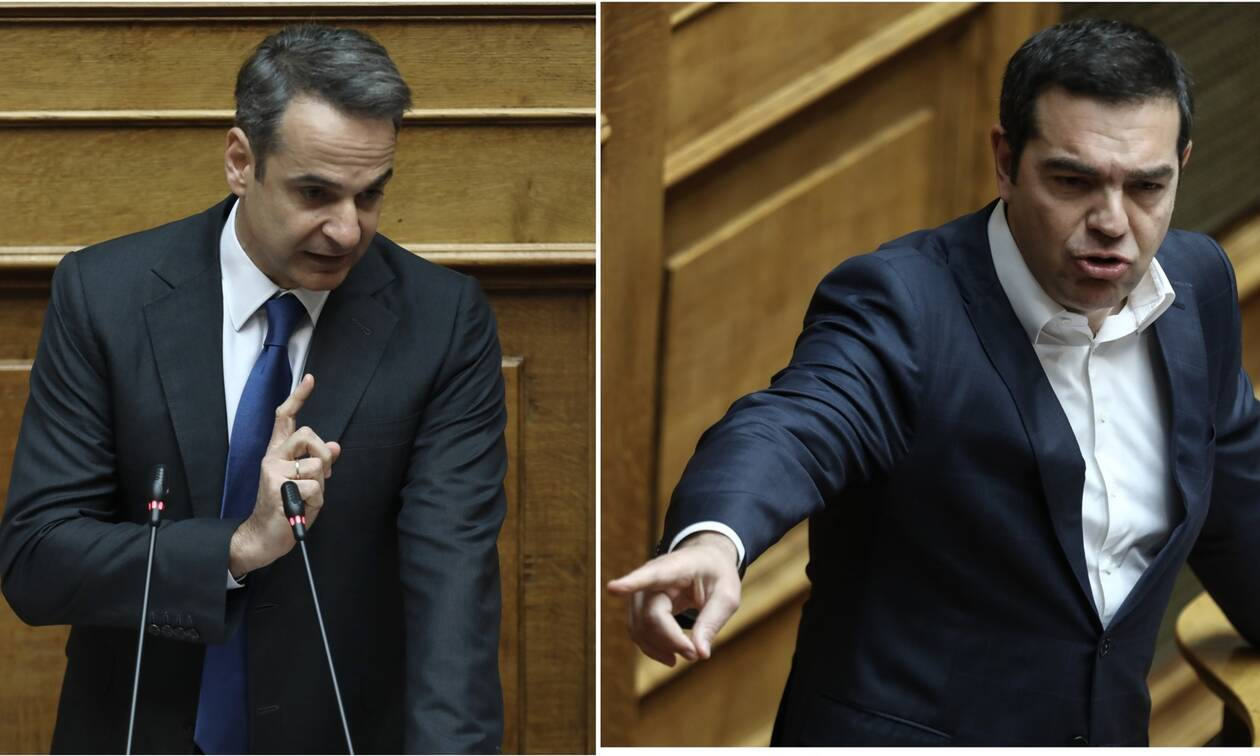 Μητσοτάκης: Κάνετε αντιπολίτευση με... μαγκάλια – Τσίπρας: Είσαι ο μεγαλύτερος πολιτικός απατεώνας