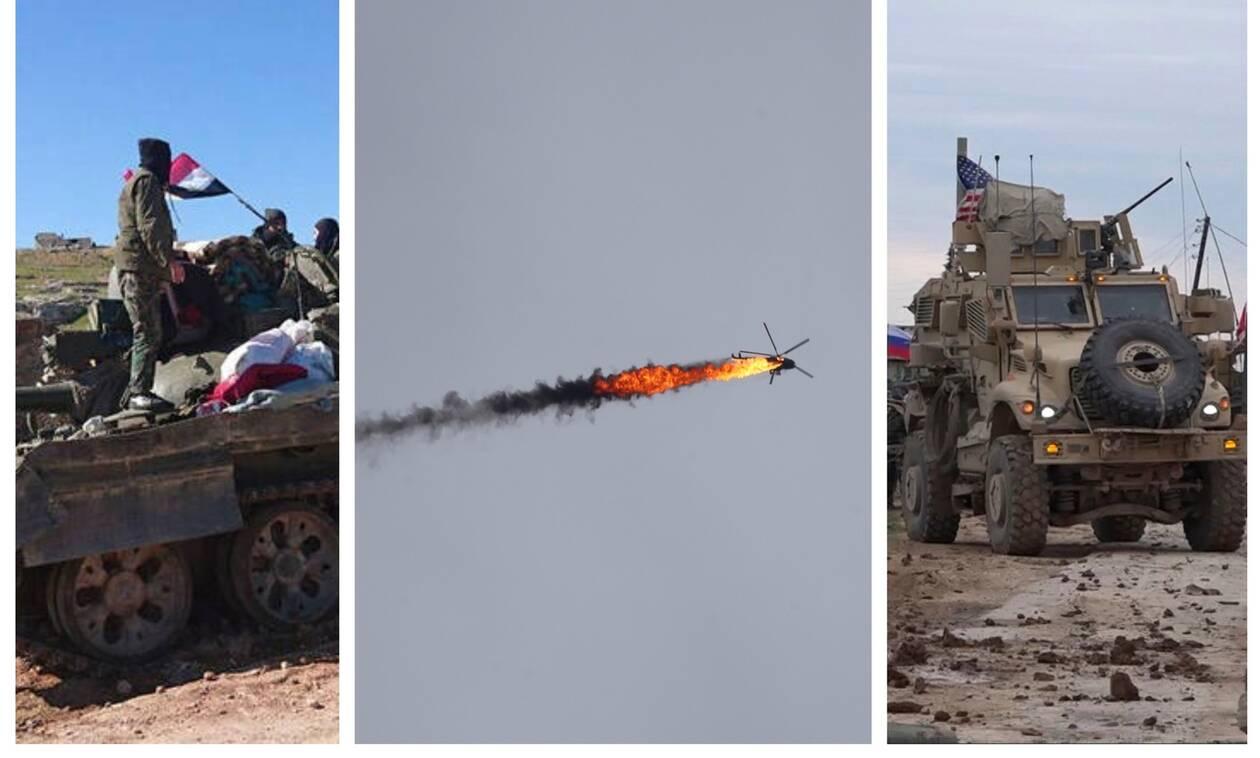 «Καζάνι που βράζει» η Συρία: Προελαύνει στο Ιντλίμπ ο Άσαντ – Αντάρτες κατέρριψαν ελικόπτερο
