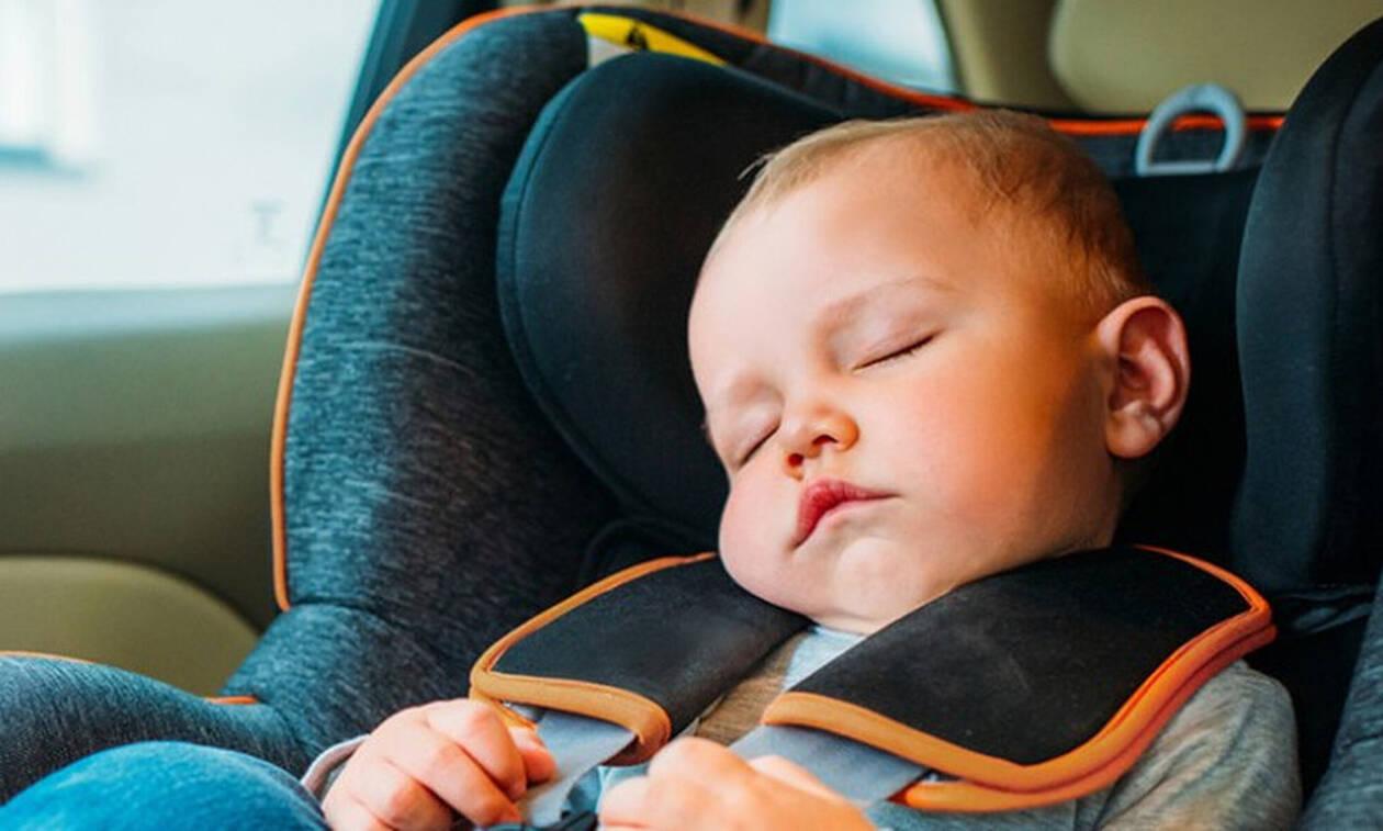 Γιατί τα μωρά κοιμούνται πιο εύκολα μέσα στο αυτοκίνητο