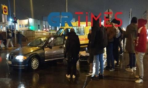 Τροχαίο στη Θεσσαλονίκη: Σε σοβαρή κατάσταση άνδρας που παρασύρθηκε από ΙΧ