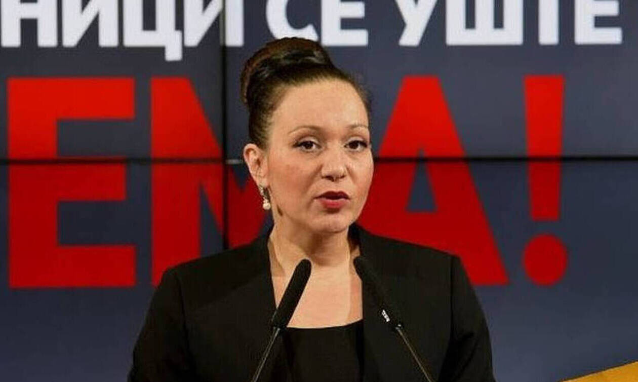 Η Βουλή των Σκοπίων απέπεμψε την υπουργό Εργασίας για την επίμαχη πινακίδα