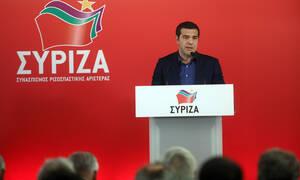 Τσίπρας στην ΚΕ του ΣΥΡΙΖΑ: Ο Μητσοτάκης να απολογηθεί - Τι είπε για το όνομα του κόμματος
