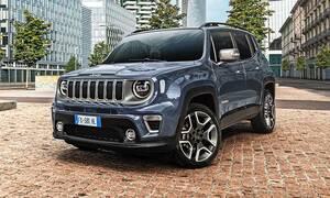 Νέες, πιο πλούσιες εκδόσεις για το Jeep Renegade που ξεκινά από τις 18.900 ευρώ