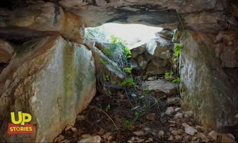Δρακόσπιτο Υμηττού: Η άγνωστη αρχαιότερη κατοικία της Αττικής από ψηλά