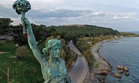 Το ήξερες; Σε αυτή την πόλη της Ελλάδας υπάρχει άγαλμα της Ελευθερίας