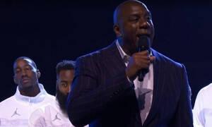 NBA All Star Game: Ο συγκινητικός λόγος του Μάτζικ Τζόνσον για τον Κόμπε Μπράιαντ (video)