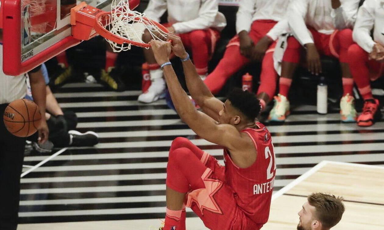 NBA All Star Game 2020: Νίκη του Λεμπρόν σε ματσάρα (video)