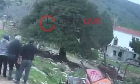 Βίντεο-σοκ από το φονικό στο Λασίθι: Καρέ-καρέ η άγρια δολοφονία (vid)