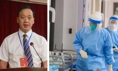 Κοροναϊός: Πέθανε από τον φονικό ιό ο διευθυντής του νοσοκομείου της Ουχάν
