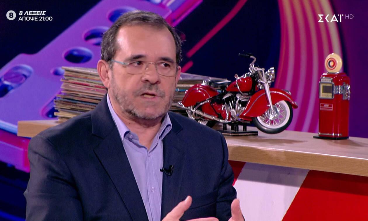 Ο Παύλος Τσίμας για το Mega: «Tο τηλεοπτικό σύστημα ισορροπούσε γύρω από το Mega» (video)
