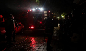 Τραγωδία στο Περιστέρι: Ένας νεκρός από φωτιά σε σπίτι