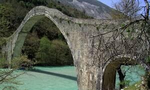 Τζουμέρκα: Το μεγαλύτερο μονότοξο γεφύρι των Βαλκανίων