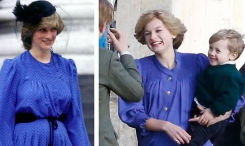 Συγκινητικό: Οι πρώτες εικόνες με την πριγκίπισσα Νταϊάνα έγκυο στη σειρά «The Crown» (pics)