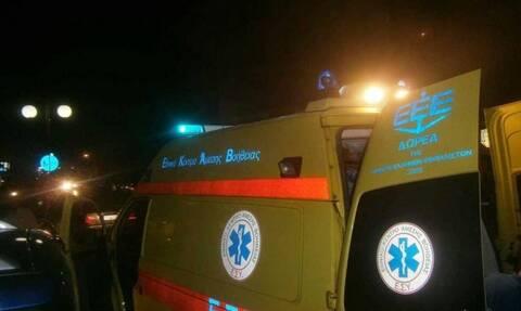 Σοκαριστικό δυστύχημα στην Εγνατία: Παρασύρθηκε διαδοχικά από δύο οχήματα
