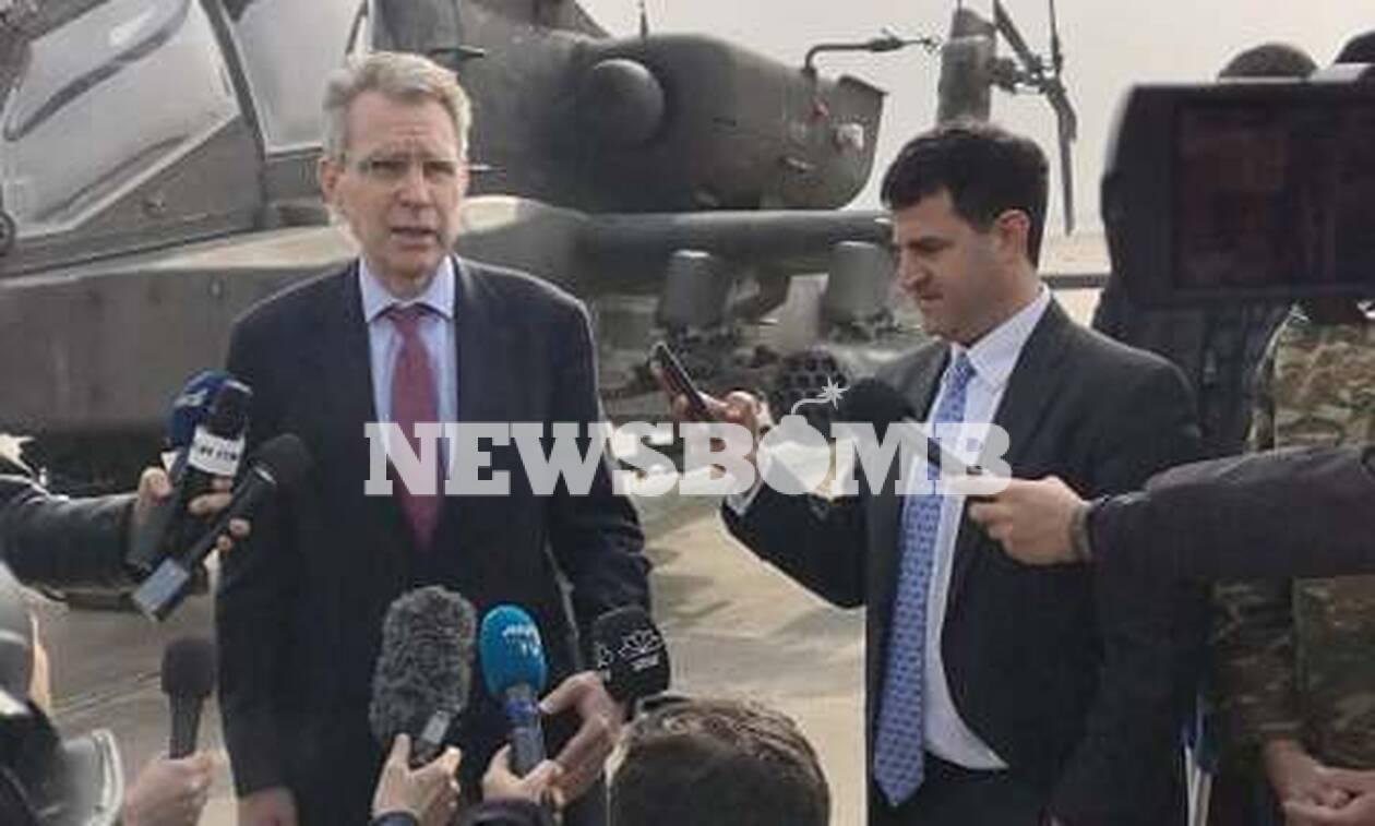 Πάιατ:«Οι κοινές δράσεις των Ενόπλων Δυνάμεων ΗΠΑ – Ελλάδας δυναμώνουν την παρουσία μας στην Ευρώπη»