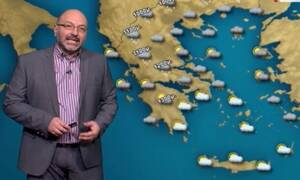 Καιρός: Προσοχή τις επόμενες ώρες! Πού θα χιονίσει, πού θα βρέξει. Η ανάλυση του Αρναούτογλου (vid)