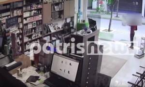 Ηλεία: 7χρονος ξαφρίζει ταμείο φαρμακείου και γίνεται «καπνός» (video)
