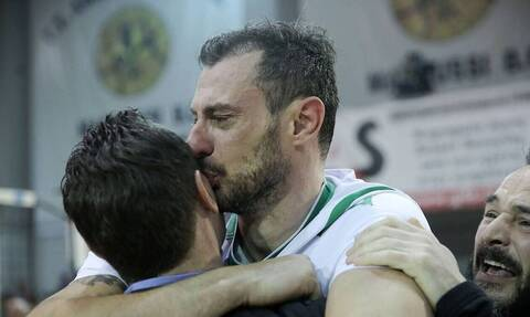 Έτσι έζησε τον αγώνα ο Δημήτρης Ανδρεόπουλος! (photos)