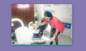 Η Έφη Σαρρή έγινε βοηθός οδοντιάτρου!