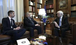Στον Πρόεδρο της Δημοκρατίας ο Γιώργος Πατούλης και ο Κώστας Μπακογιάννης