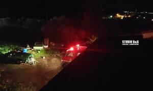 Αργολίδα: Παρανάλωμα του πυρός μονοκατοικία (pics)