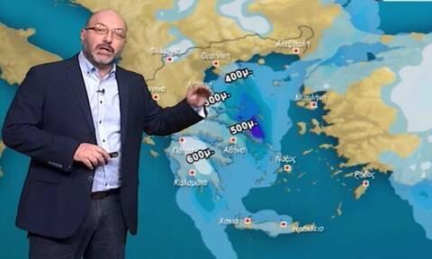 Καιρός: Σύντομες χιονοπτώσεις το πρωινό του Σαββάτου! Η ενημέρωση του Σάκη Αρναούτογλου (video)