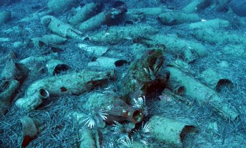 У берегов Кипра обнаружили судно римской эпохи с амфорами