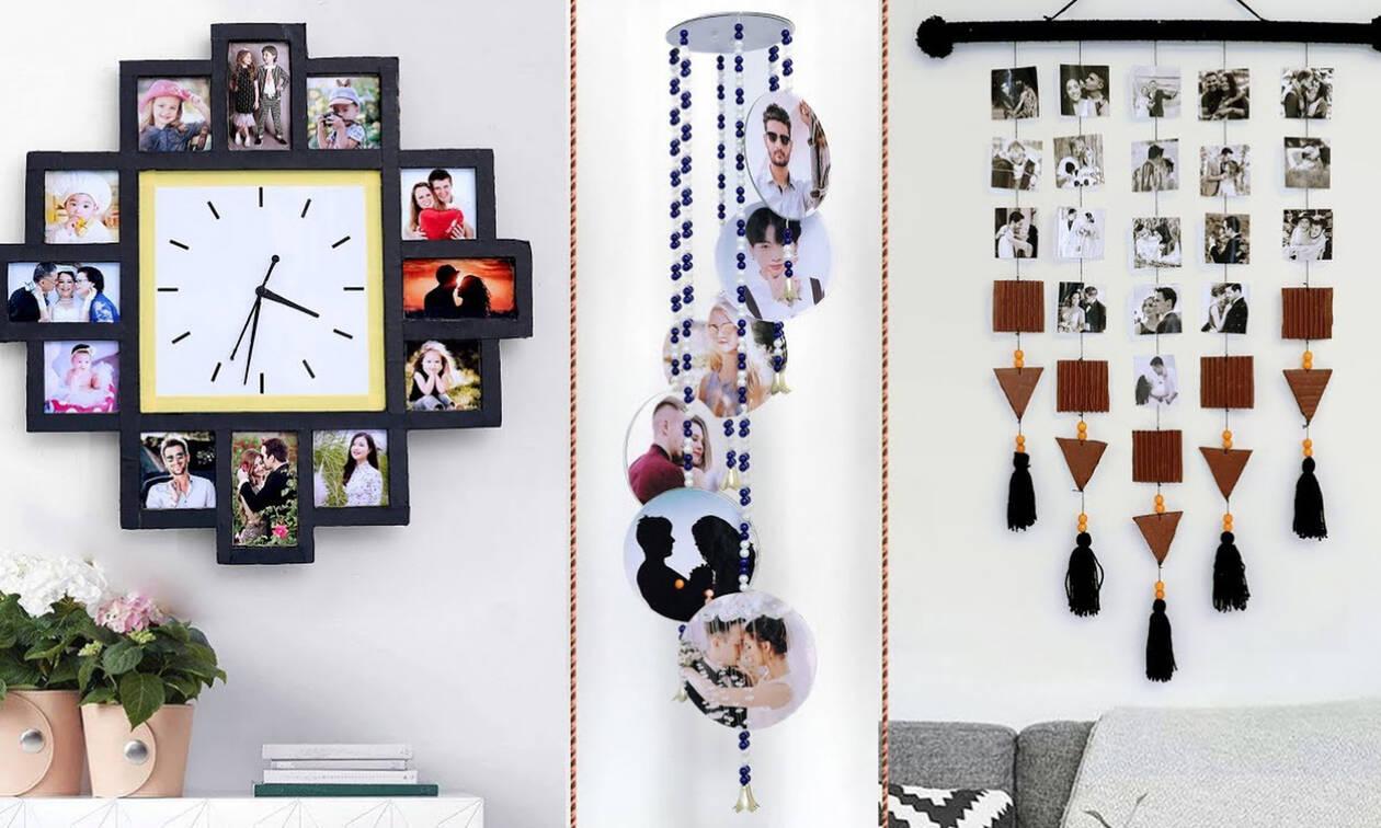 Οκτώ τρόποι για να διακοσμήσετε τις οικογενειακές φωτογραφίες στο σαλόνι (vid)